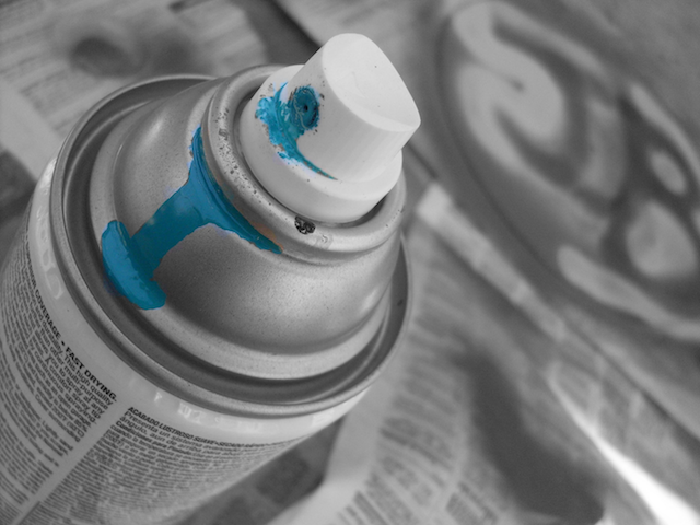 Can Of Spray Paint