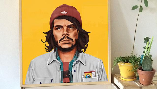 Che Guevara Hipstory