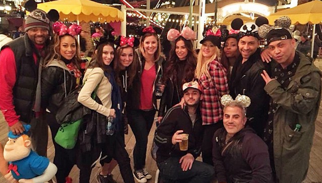 Christina Aguilera Disneyland