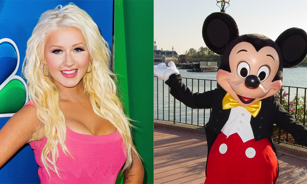 Christina VS Mickey