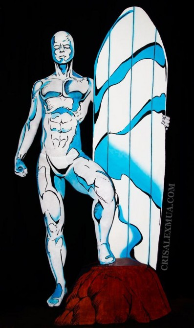Creepy Silver Surfer