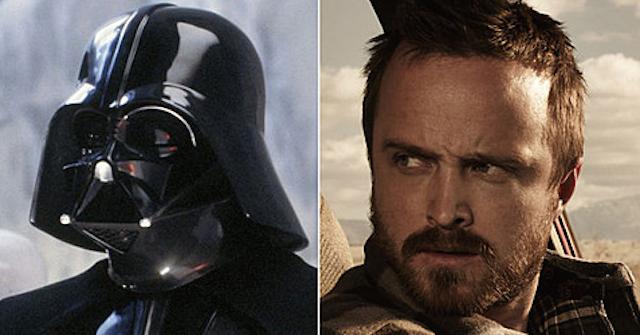 Darth Vader Aaron Paul