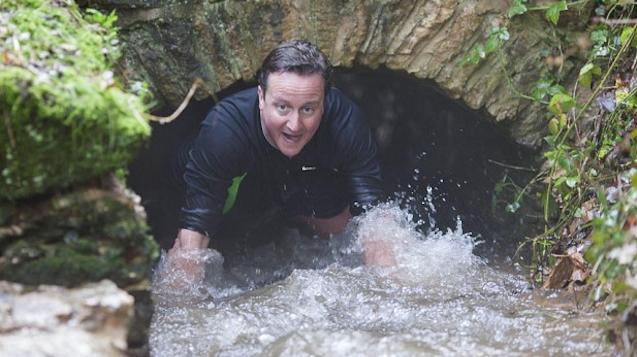 David Cameron Hunting