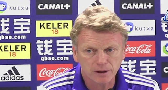 David Moyes Spanish Skills