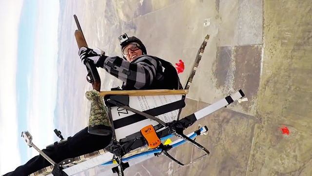 Erik Roner BASE Jump Lawn Chair