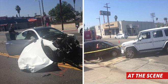 Floyd Mayweather Car Crash
