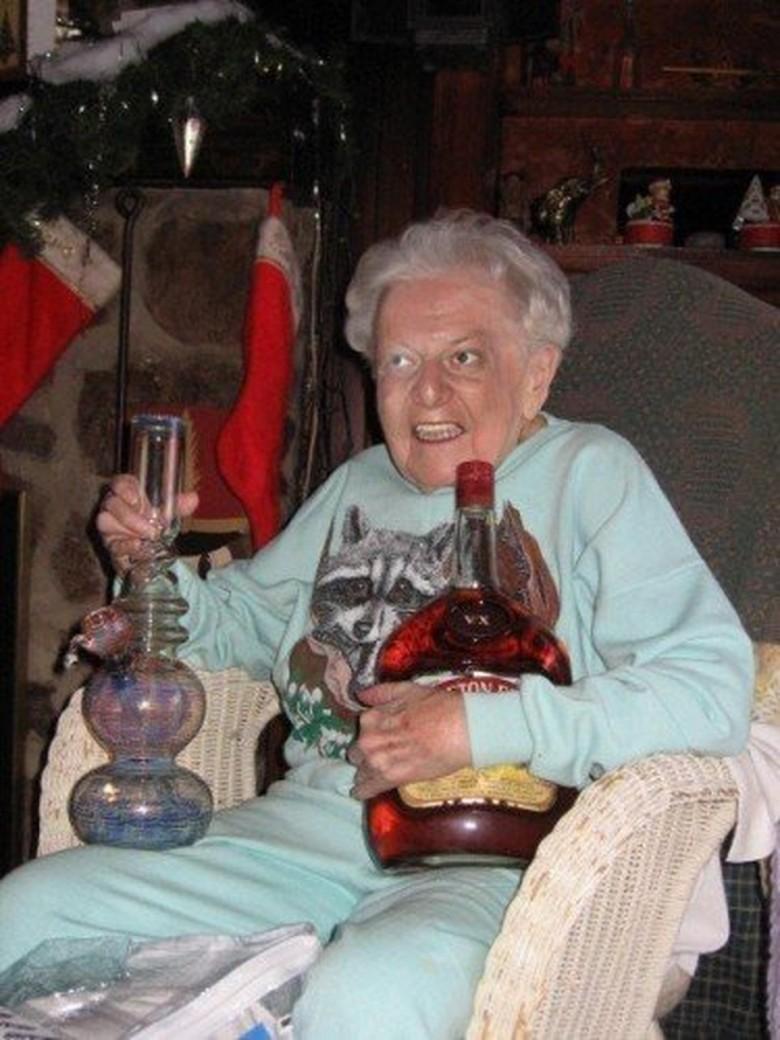 Grandma Bong