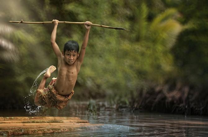Herman Damar Indonesia - action