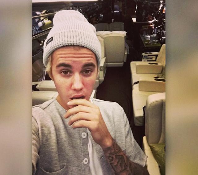 Justin Bieber Private Jet 1