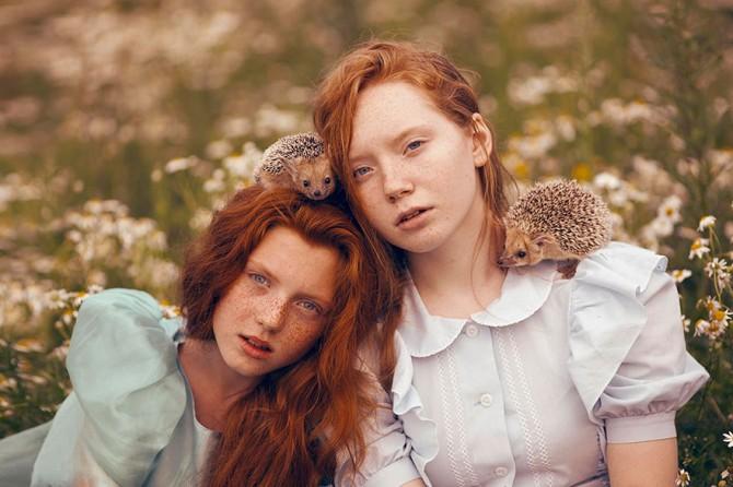 Katerina Plotnikova - Girls And Hedgehogs
