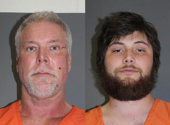 Kevin Nash & Son Mug Shot