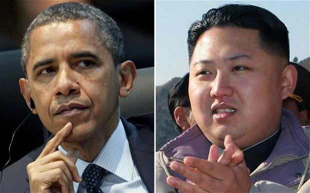 Obama V Kim Jong-un