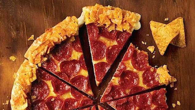 Pizza Hut Doritos Crust