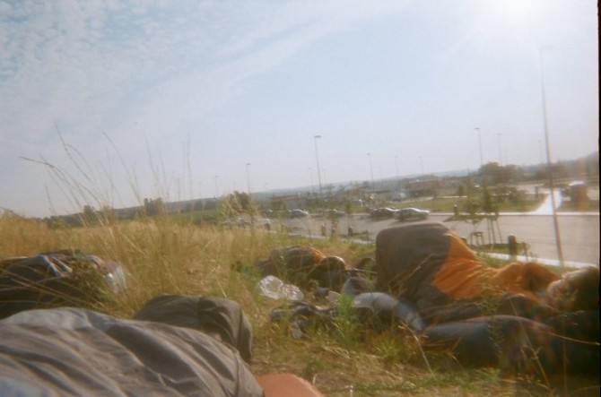 Place Hacking - Urban Explorer - Wild Camping, Autobahn Germany