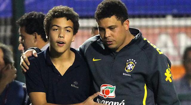 Ronaldo And Son Ronald