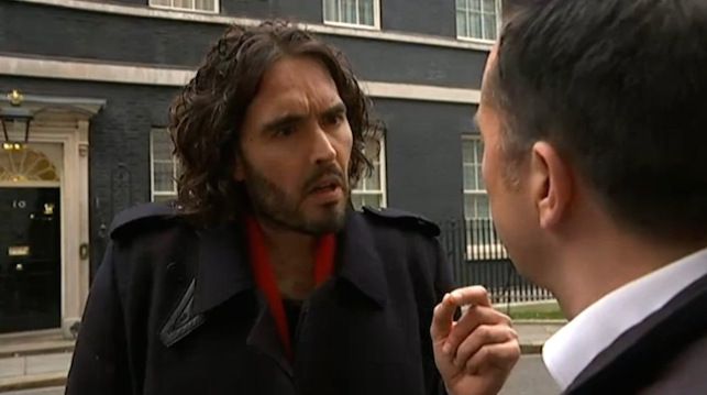 Russell Brand Snide