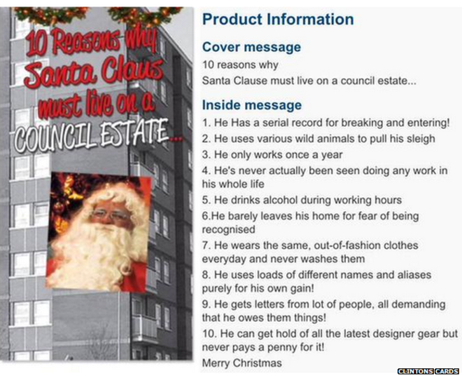 santa clause council estate - 12 Ghetto Days Of Christmas