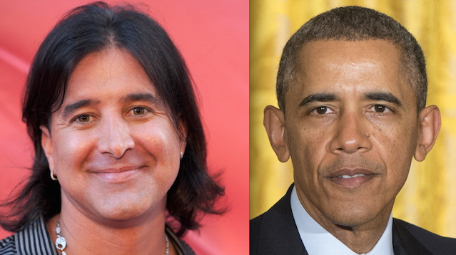 Scott Stapp Barack Obama