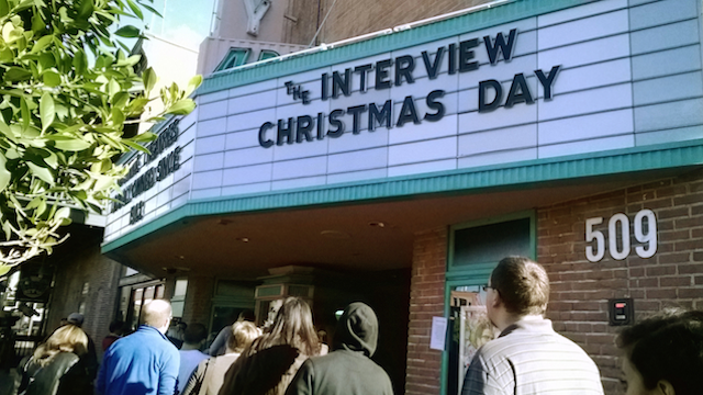 The Interview Christmas Day