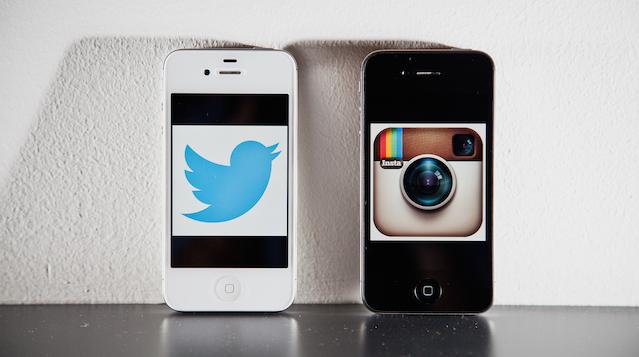 Twitter Vs Instagram