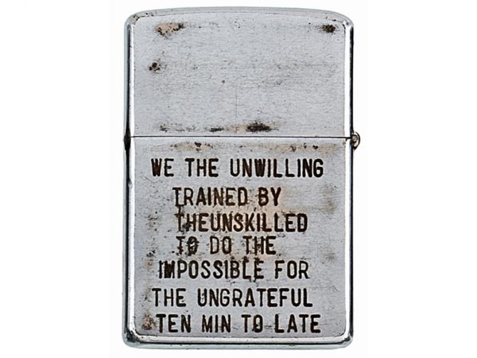 Vietnam Zippos - Unwilling