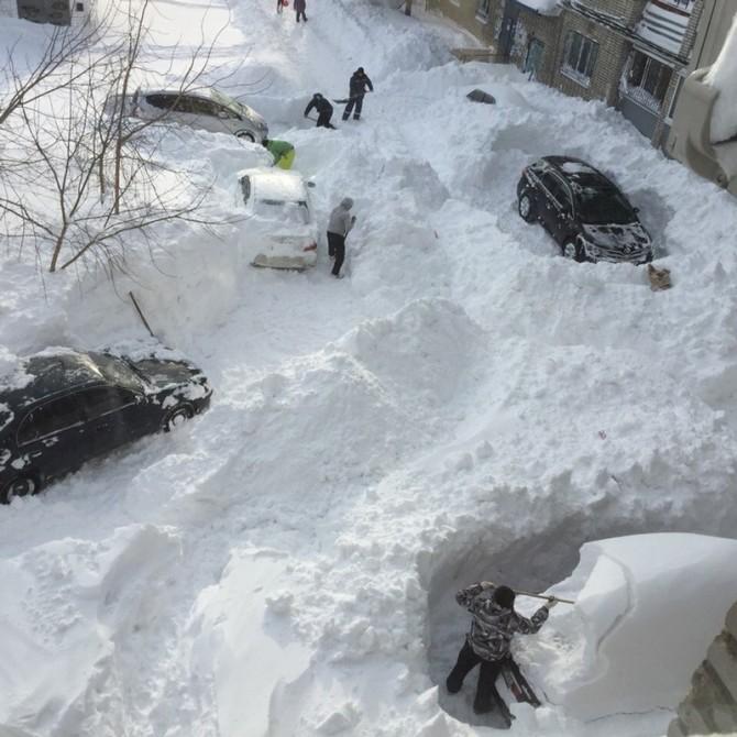 Vladivostok Snow Storm 2