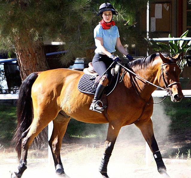 Zooey Deschanel Horse