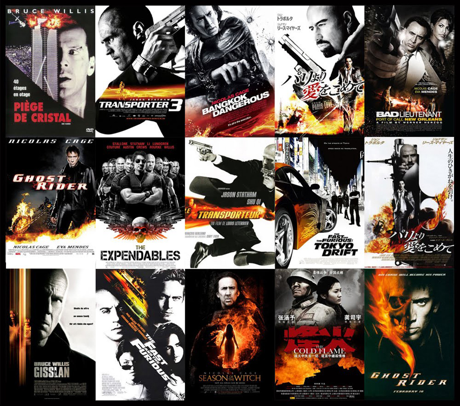 Every Movie Poster Is Exactly The Same: Here's The Proof