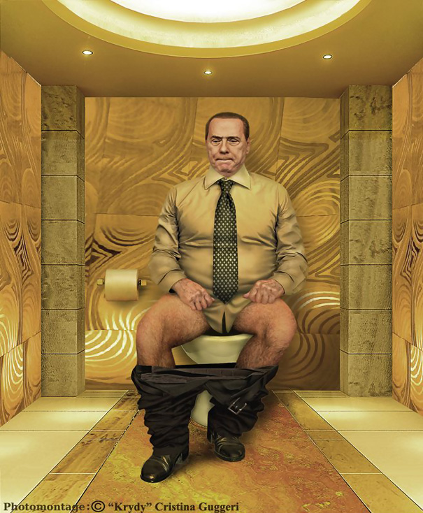 Berlusconi Toilet
