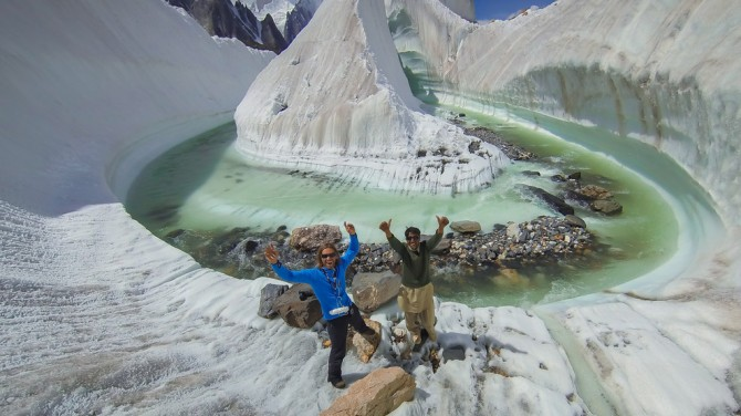 Best Drone Photos - Baltoro Glacier, Karakorum, Pakistan