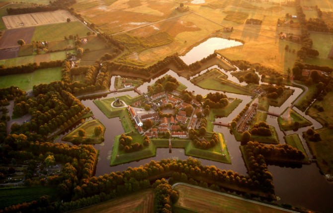 Best Drone Photos - Bourtange, in eastern Netherlands