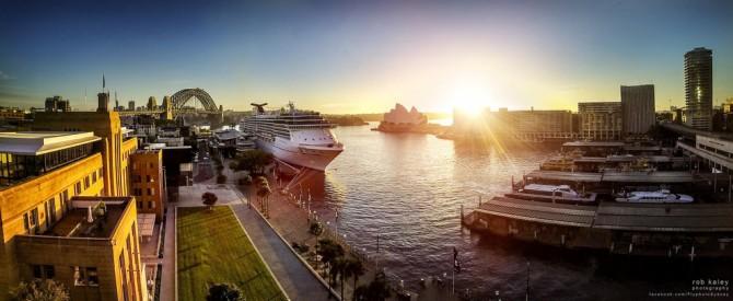Best Drone Photos - Circular Quay, Sydney, Australia