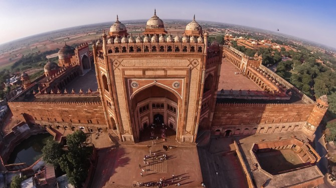 Best Drone Photos - Fatehpur Sikri, India