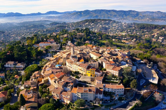 Best Drone Photos - Mougins near Cannes in France
