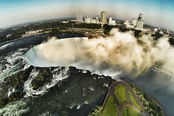 Best Drone Photos - Niagara Falls, Canada