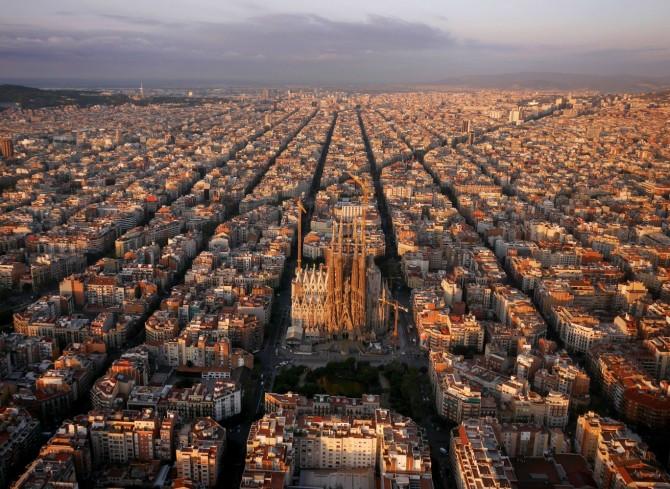 Best Drone Photos - Sagrada Familia in Barcelona