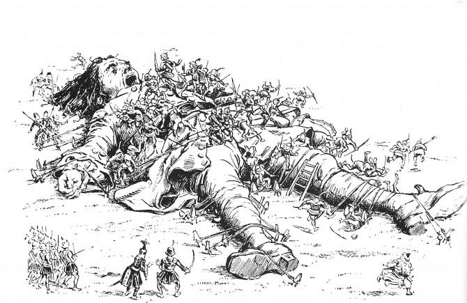 Books For Intelligent People - Gulliver's Travels, Jonathan Swift