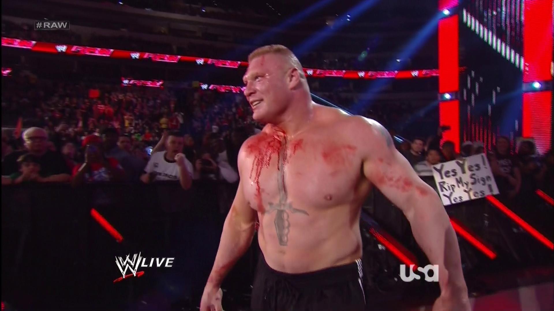Pro Wrestling Flashback Brock Lesnar Shows Up For The First Time