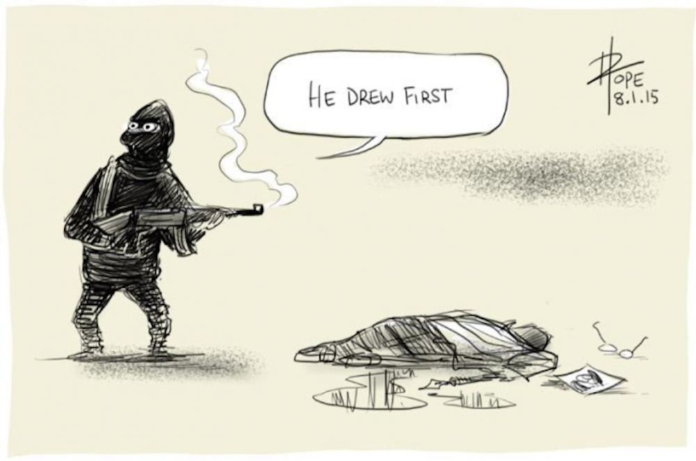 Charlie Hebdo Cartoons Featured