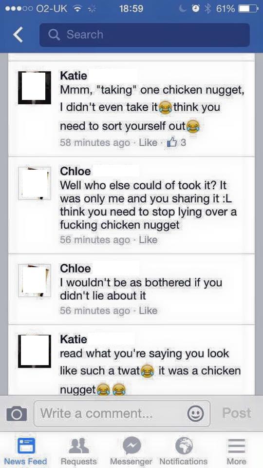 Chicken Nuggets Argument 1Chicken Nuggets Argument 1