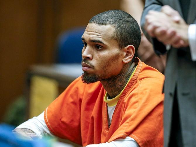 Chris Brown Jail