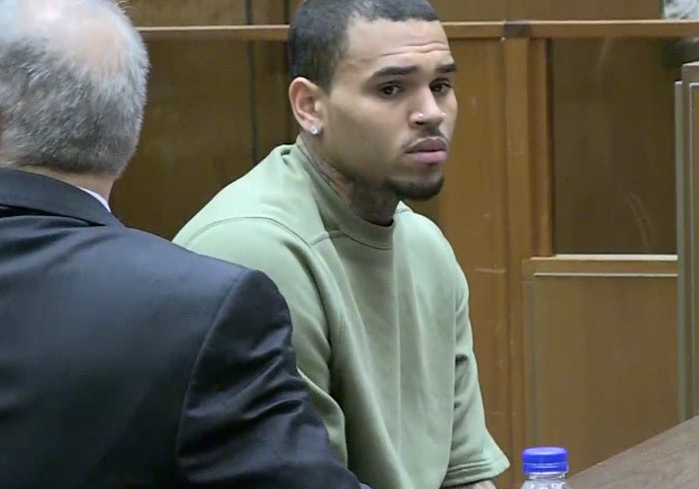 Chris Brown Probation Revoked 2