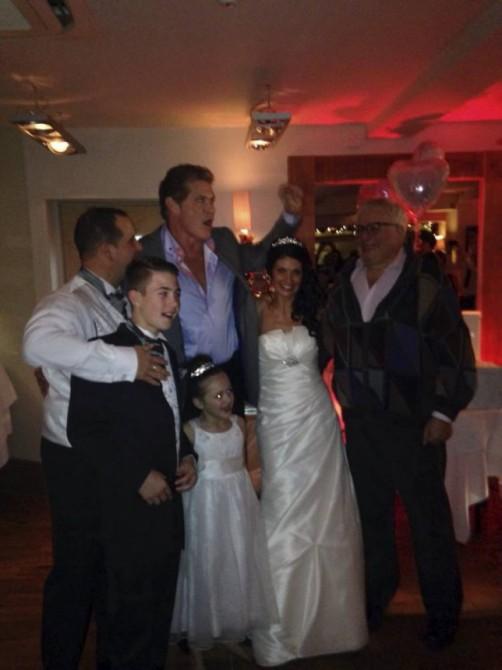 David Hasselhoff Southend Wedding