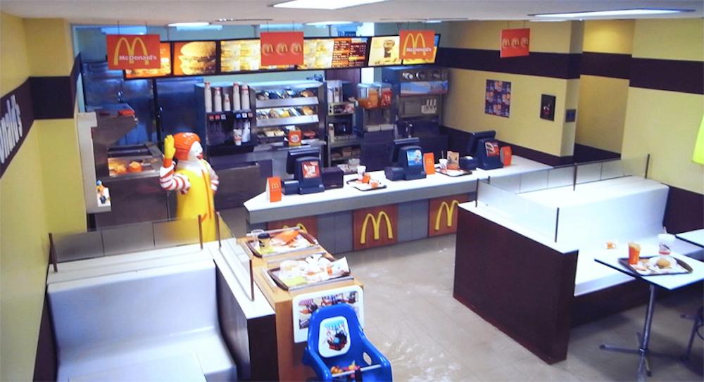 Empty McDonald's
