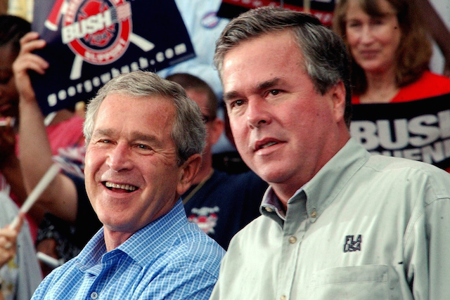 George Bush Jeb Bush