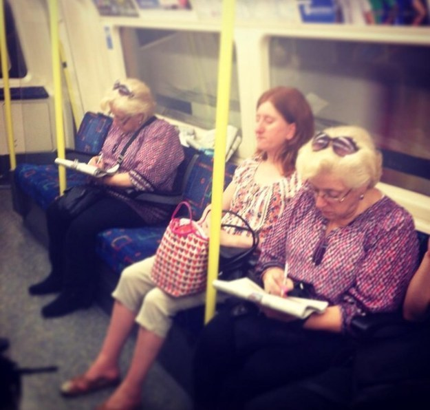 Glitches In The Matrix - same ladies
