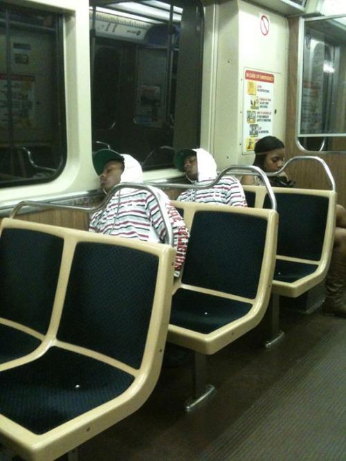 Glitches In The Matrix - train dude