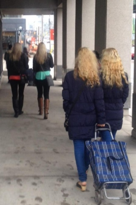 Glitches In The Matrix - two sets of twins