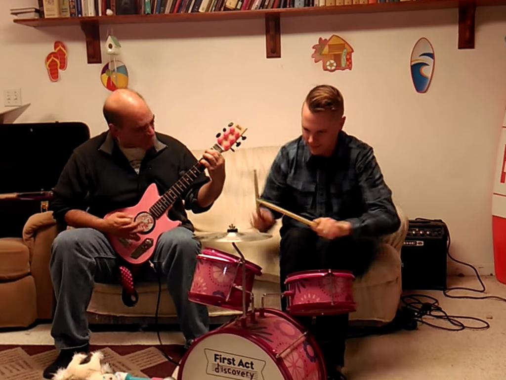 Heavy Metal Slayer Childrens Instruments Video