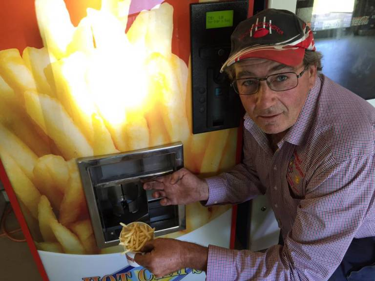 Hot Chips Vending Machines